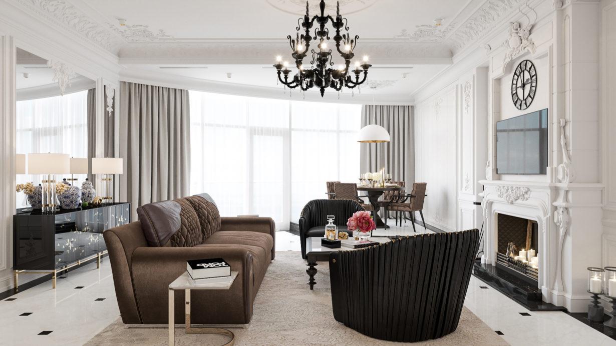 luxury-интерьер