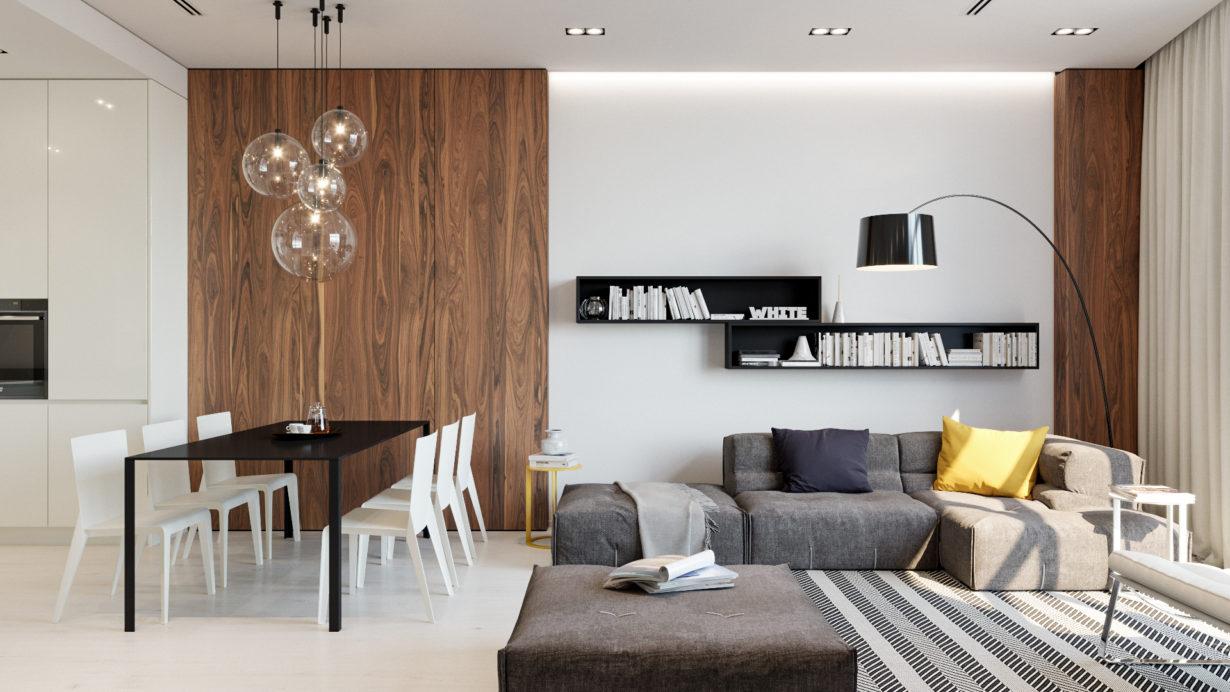 Элегантный и современный дизайн квартиры