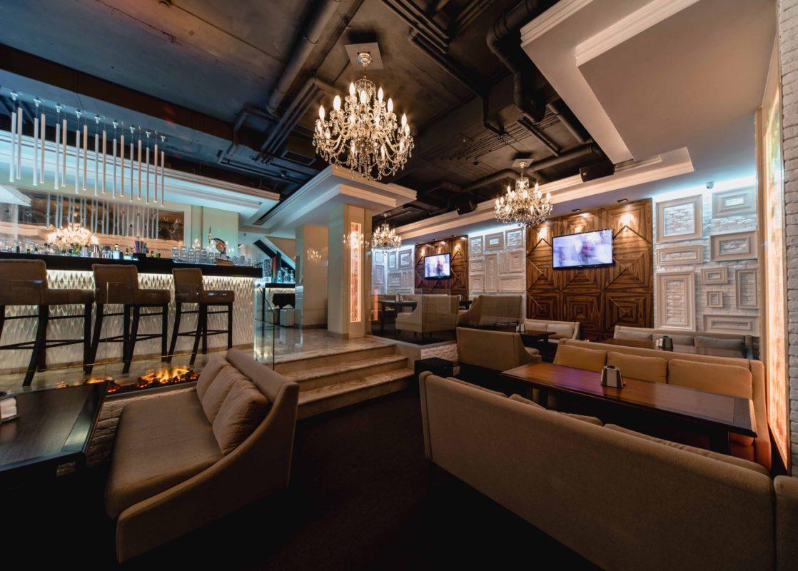 Дизайн интерьера. Дизайн ресторана.