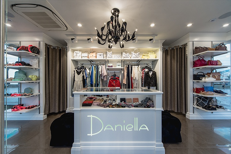 Дизайн интерьера магазина, бутика