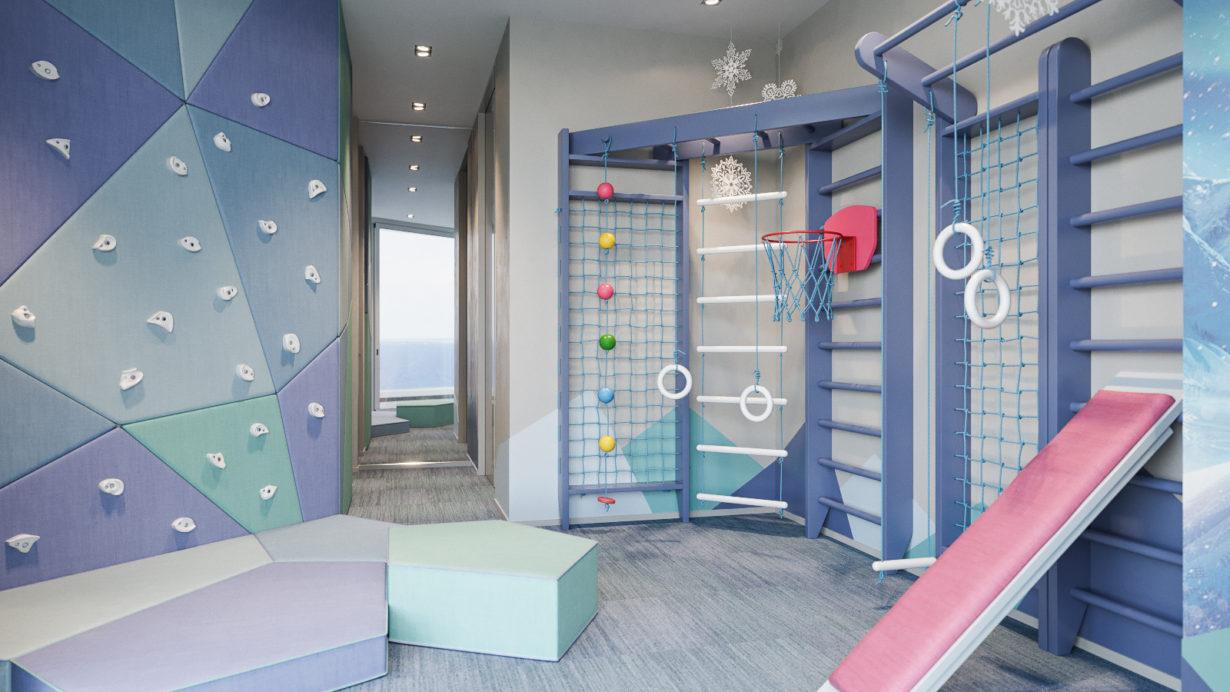 Детская спортивная комната