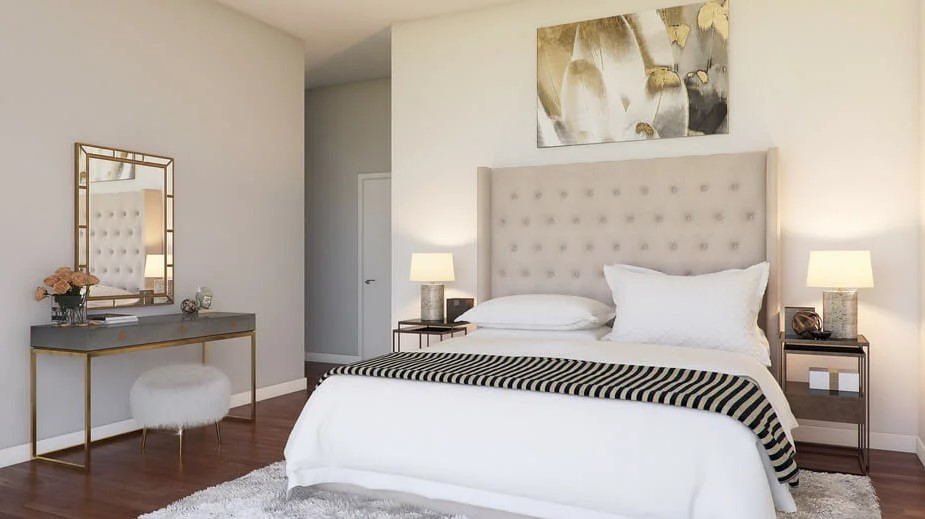 Цветовые комбинации для спальни